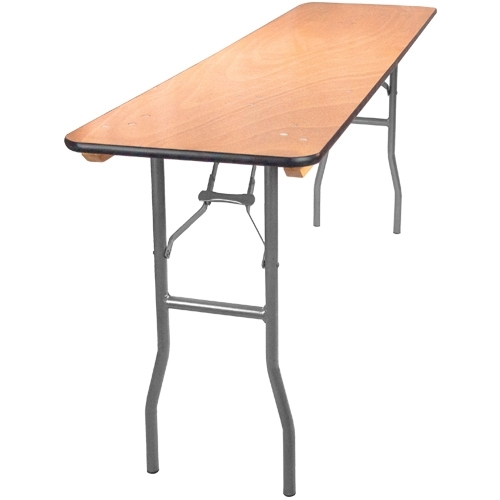 New York Wood folding tables cheap prices plywood folding