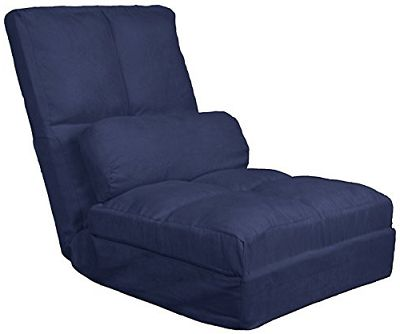 Cosmo Click Clack Convertible Flip Chair Sleeper Bed Cosmo