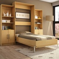 Twin Storage Wall Bed S207-5(WFFS) - Rollaway Beds Shipped ...