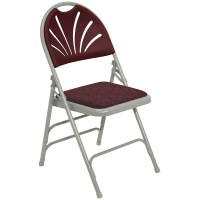National Public Seating 1000 Series Fan-Back Upholstered ...