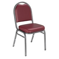 9200 Series Dome Back Vinyl Banquet Stacking Chairs (9201 ...