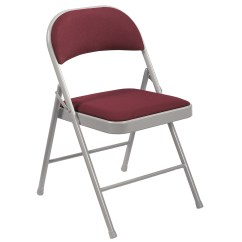 Cloth Padded Folding Chairs Macys Recliner National Public Seating 900 Series Commercialine Fabric Chair Set Of 4