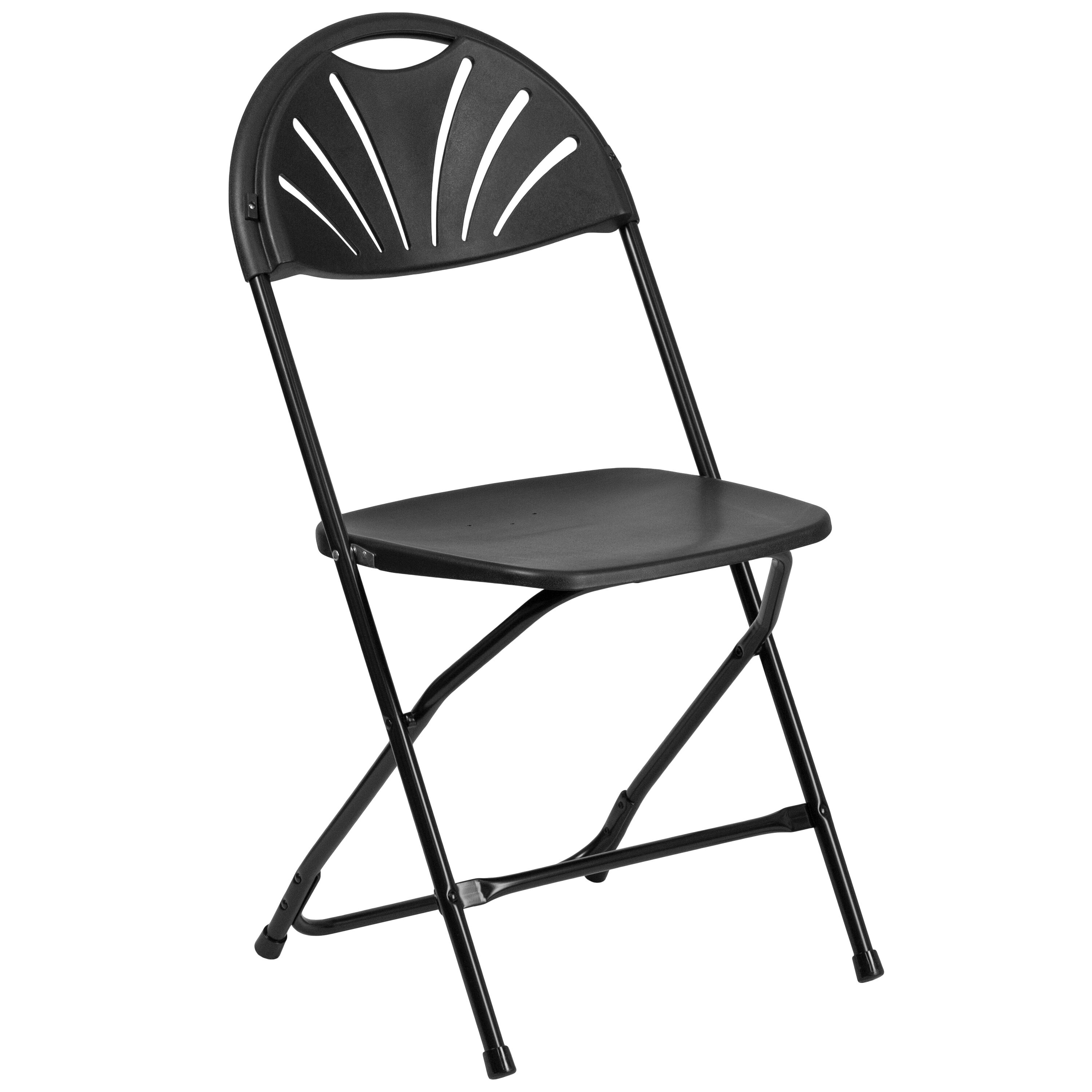 folding chairs outdoor use double reclining chair black plastic le l 4 bk gg foldingchairs4less com