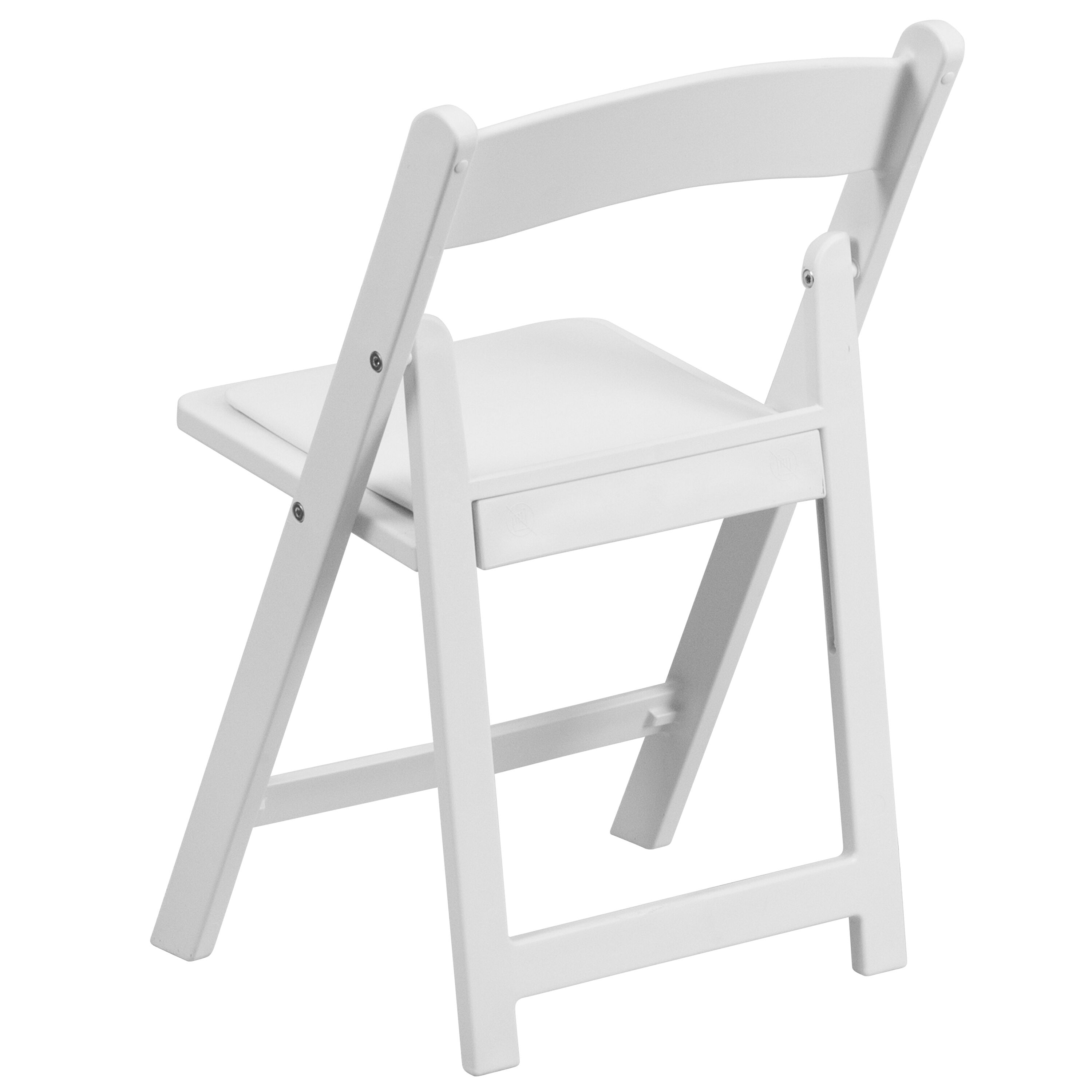 resin folding chairs for sale rocking toddlers canada kids white chair le l 1k gg foldingchairs4less com our with vinyl padded seat is on now