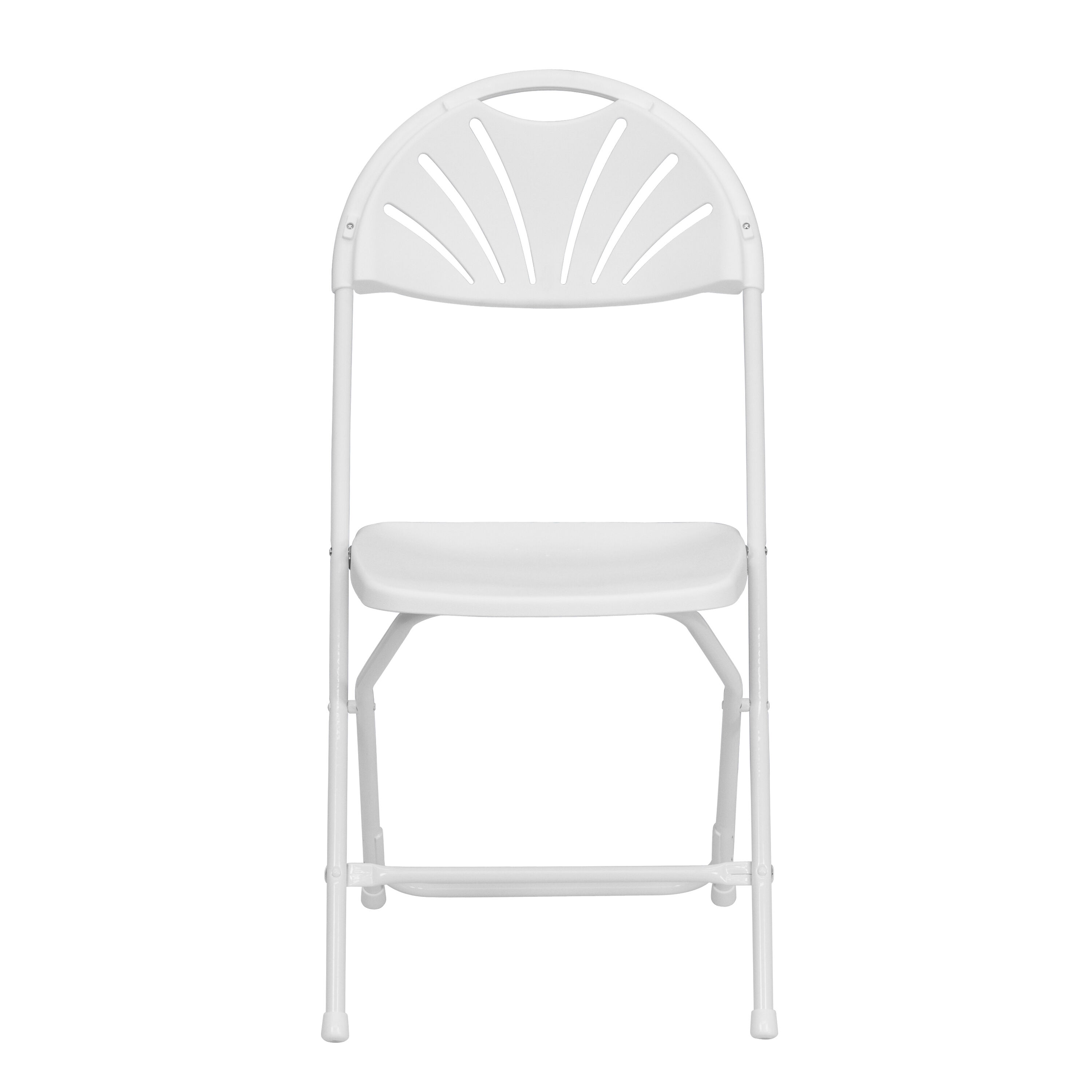 folding chairs for less wicker fan back chair white plastic le l 4 gg