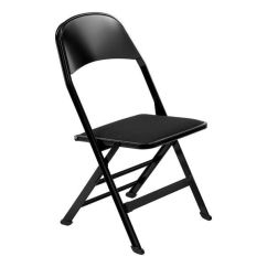 Folding Chair Fabric Office Support Upholstered 2517