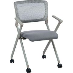 Folding Chair For Less Butterfly Covers Ebay Set Of 2 Work Smart Fc8482