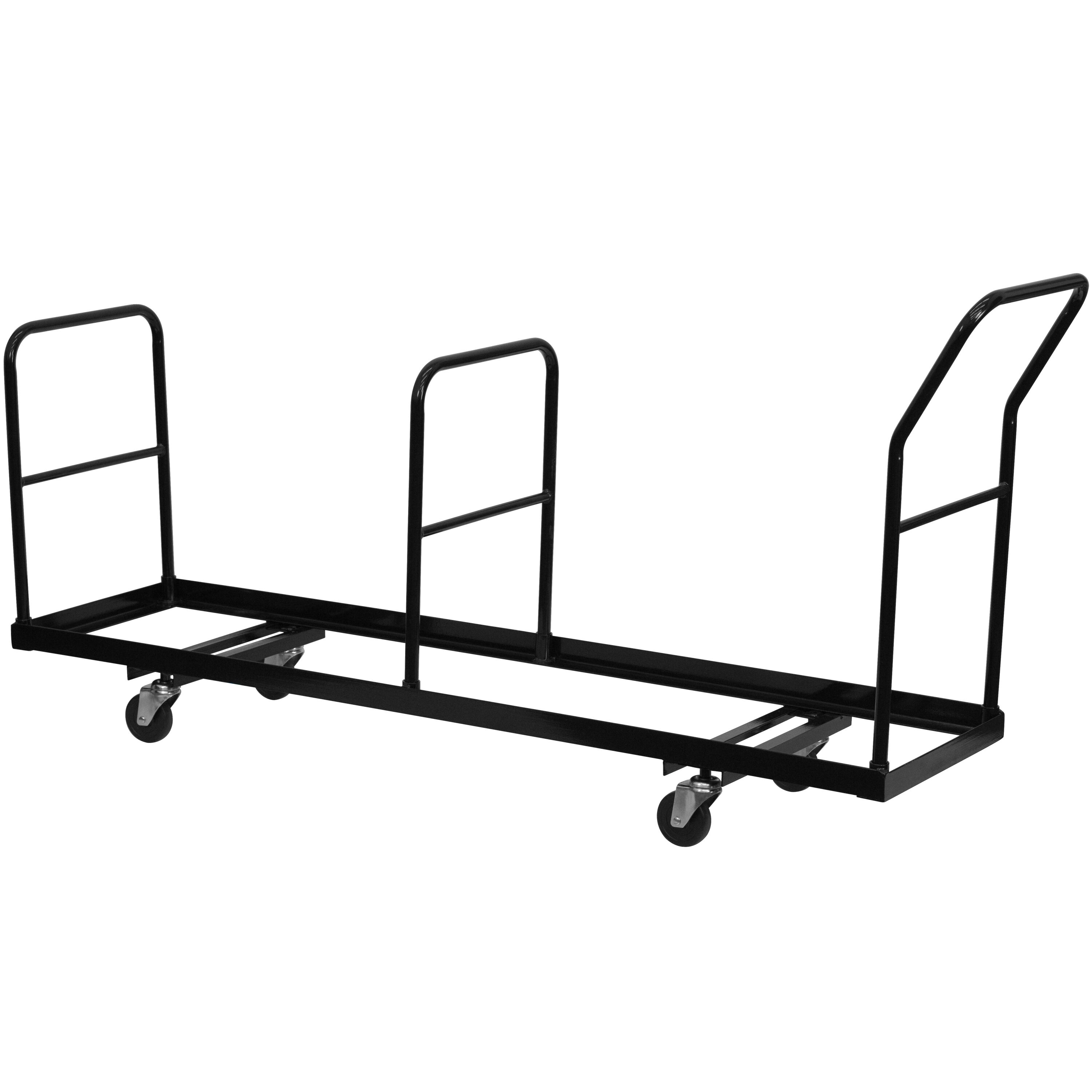 folding chair dolly 50 capacity office swivel chairs with arms foldingchairs4less dollies vertical storage 35