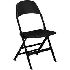 Folding Chair For Less Bedroom Table Black Steel 2000sb