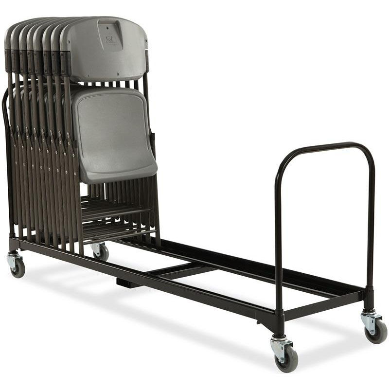folding chair dolly 50 capacity rocking in walmart foldingchairs4less dollies rough n ready 34 cart black