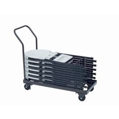 Folding Chair Dolly 50 Capacity Office Chairs For Sale Foldingchairs4less Dollies Welded Iron Truck With 4