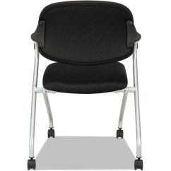 Folding Chair With Wheels Upholstery Fabric For Chairs Mesh Armchair Black Bsxvl303mm10x