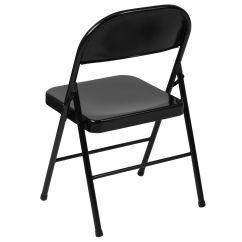 Steel Chair Price In Bangladesh Stool Decor Black Metal Folding Bd F002 Bk Gg