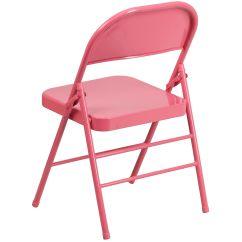 Pink Folding Chair Lucite Swivel Bubblegum Hf3 Gg