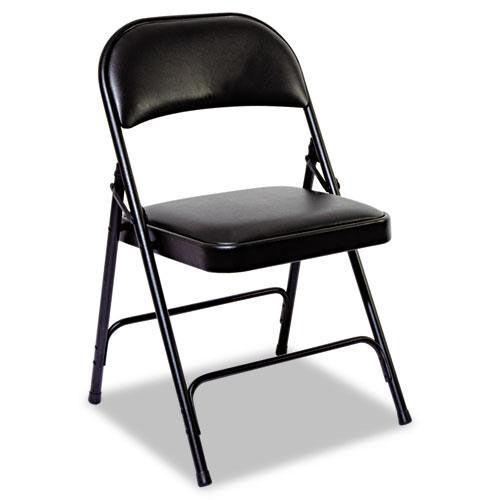 folding chair for less microfiber office high back steel graphite alefc96b foldingchairs4less