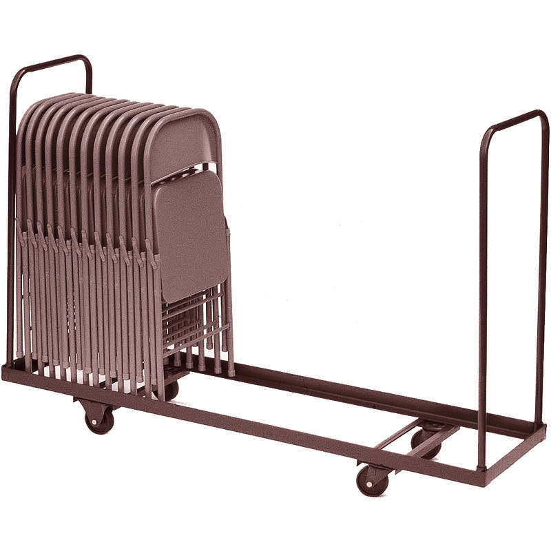 folding chair dolly 50 capacity aluminum camping chairs foldingchairs4less dollies welded iron truck with 4
