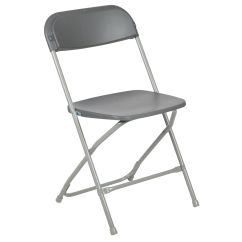 Folding Chairs For Sale Fun Office Uk Foldingchairs4less Plastic Capacity Premium Grey Chair