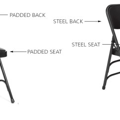 Steel Chair Repair Frank Lloyd Wright Individual Pieces Non Marring Plastic Foot Cap Glides