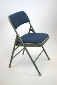 Fabric Padded Folding Chairs |Commercial Built Chairs