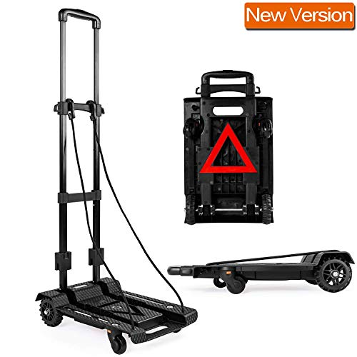 Xmifer Folding Hand Truck Protable Dolly Multi-Position