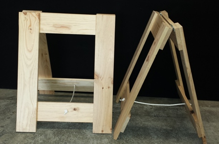 AFrame Old Style Trestle Legs  FOLDING TABLES AND CHAIRS