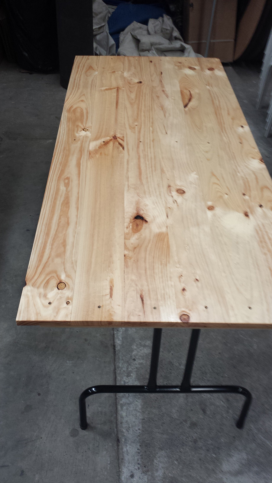 Trestle Table Timber Top 18m  FOLDING TABLES AND CHAIRS