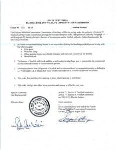 Fishing license no longer required in Florida to harvest lionfish with Foldspear