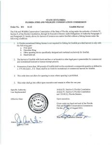Fishing license no longer required to harvest lionfish in Florida with Foldspear