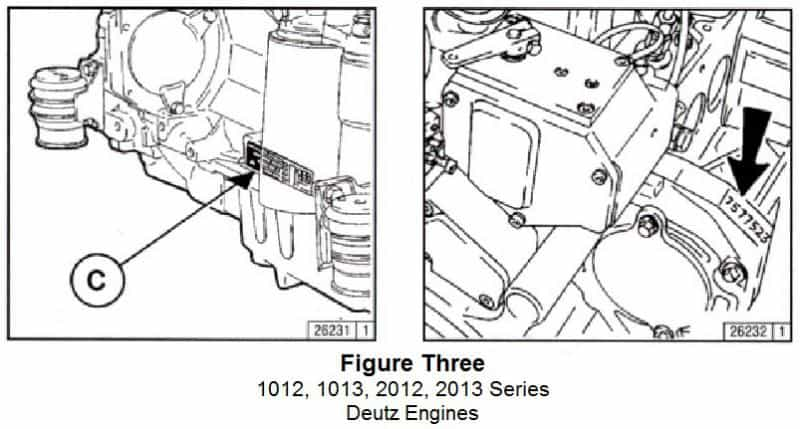 Tech Tip #199: Deutz Engine Serial Number Location Made