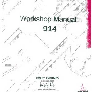 Deutz 2011 Workshop Manual
