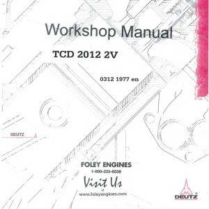 Wisconsin VE4D / VF4D Repair Manual
