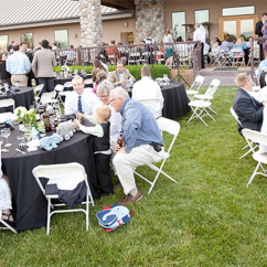 Chair Games For Seniors Dining Covers Target Australia Private Events Three Rivers Winery Round Tables Occupied By Guests At