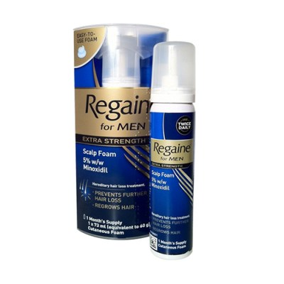 REGAINE EXTRA STRENGTH 5% CUTANEOUS FOAM (60G)
