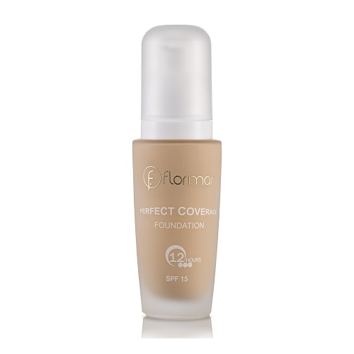 FLORMAR PERFECT COVERAGE FOUNDATION - 101 PASTELLE