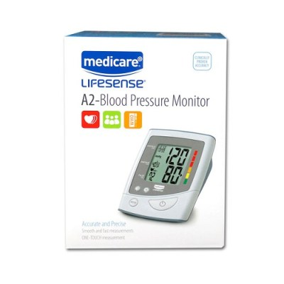 MEDICARE A2 BLOOD PRESSURE MONITOR - UPPER ARM