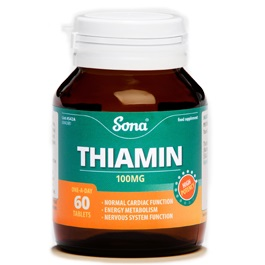 SONA THIAMIN VITAMIN B1 TABLETS (60)