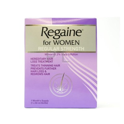 REGAINE FOR WOMEN REGULAR STRENGTH 2% SOLUTION (60ML)