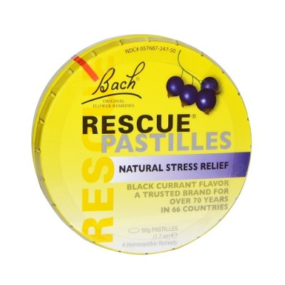 BACH RESCUE REMEDY PASTILLES (50)