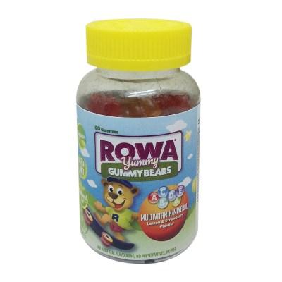 ROWA YUMMY GUMMYBEARS MULTIVITAMIN (60)