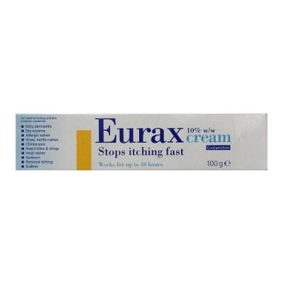 EURAX 10% CREAM CROTAMITON (100G)
