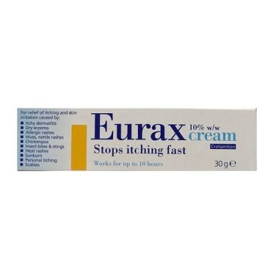 EURAX 10% CREAM CROTAMITON (30G)