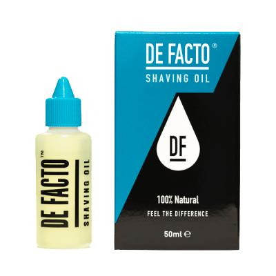 DE-FACTO SHAVING OIL (50ML)