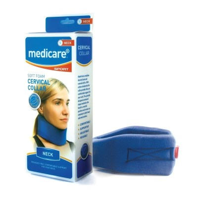 MEDICARE SOFT FOAM CERVICAL COLLAR (SMALL)