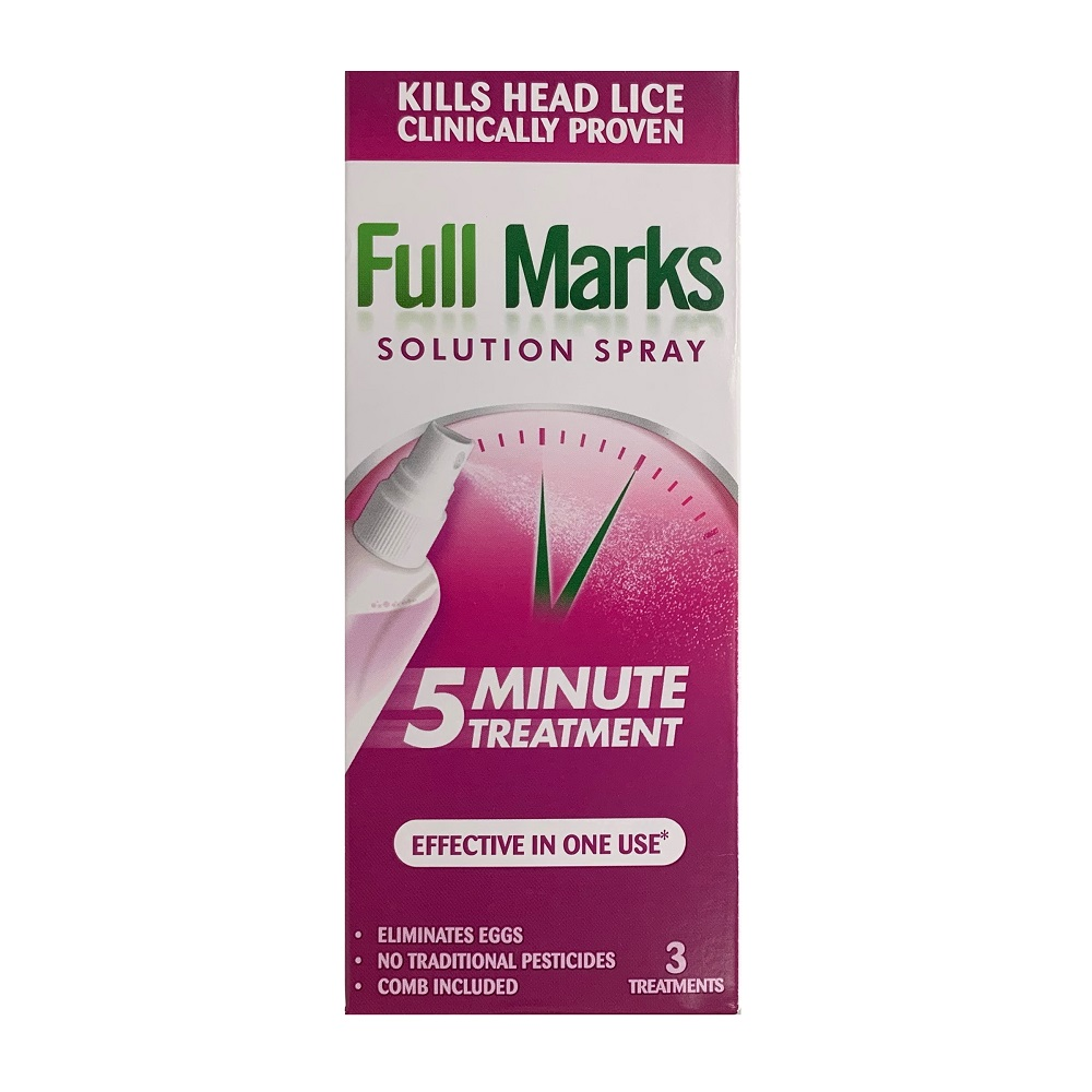 FULL MARKS SOLUTION SPRAY 3 TREATMENTS (150ML)