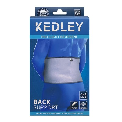 KEDLEY PRO-LIGHT NEOPRENE BACK SUPPORT