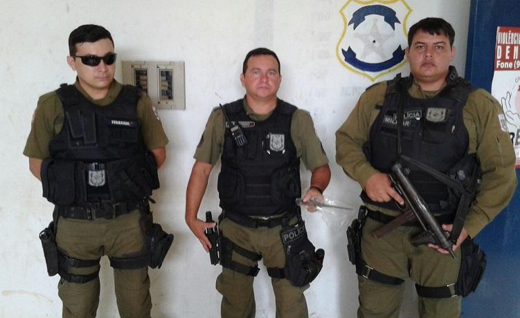 soldado Fernando,Cabo Maduro e Jeckson
