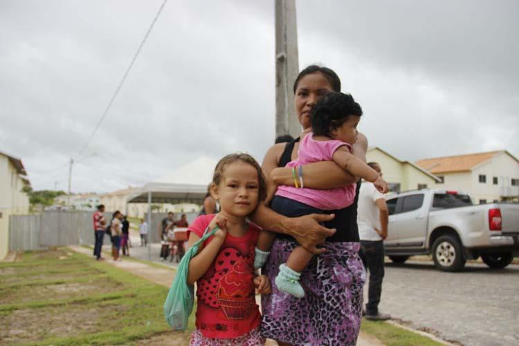 Rosa Rodrigues da Luz foi uma das contempladas pelo programa em Capanema. (Foto: Cézar Magalhães/DOL)
