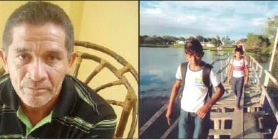 Líder-comunitário-Mário-Gomes-denuncia-o-perigo-que-estudantes-passam-ao-atravessarem-ponte-de-madeira-na-Vila-de-Piraquara