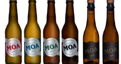 Linha de cervejas da Moa Brewing Company - Divulgação