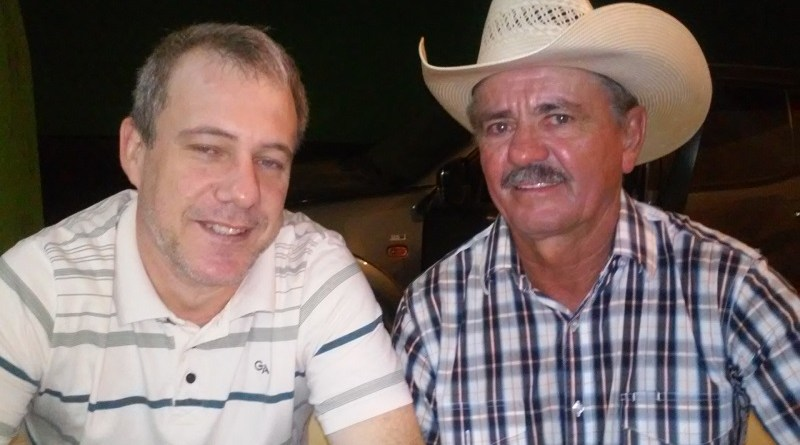 Fernando segatto Presidente do PDT e José SEbold, Presidente da APRONOP